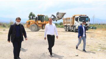Pamukkale Belediyesi'nden Turizm Bölgesine Dokunuş