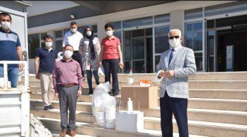 LGS'de Kullanılacak Maskeler ve Dezenfektan Malzemeleri Okullara Gönderildi