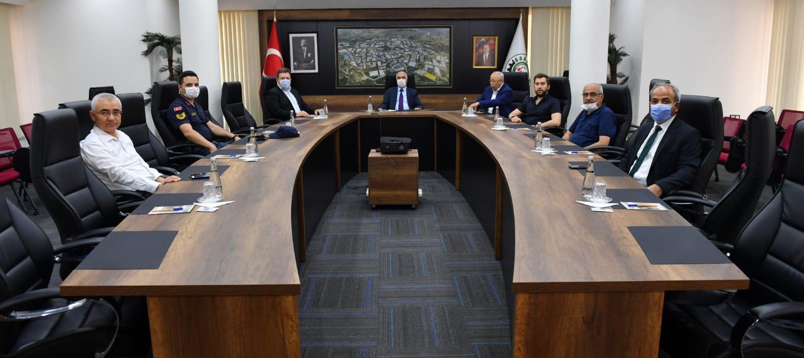 Denizli Valisi Sayın Hasan Karahan, Denizli OSB'yi ziyaret etti.