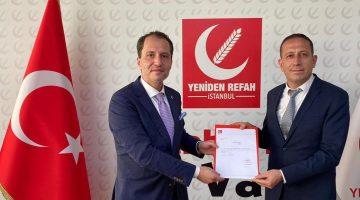 Yeniden Refah Partisi Denizli il Başkanı, Fevzi Yapıcı Oldu