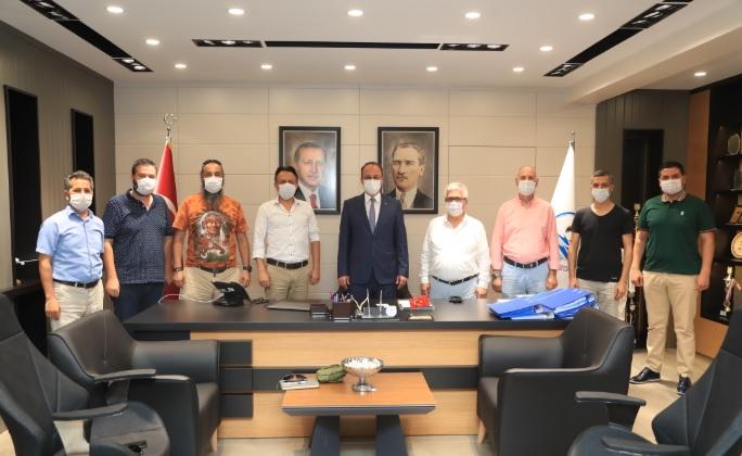 Başkan Örki Yeni Medya Der Yönetimini Ağırladı