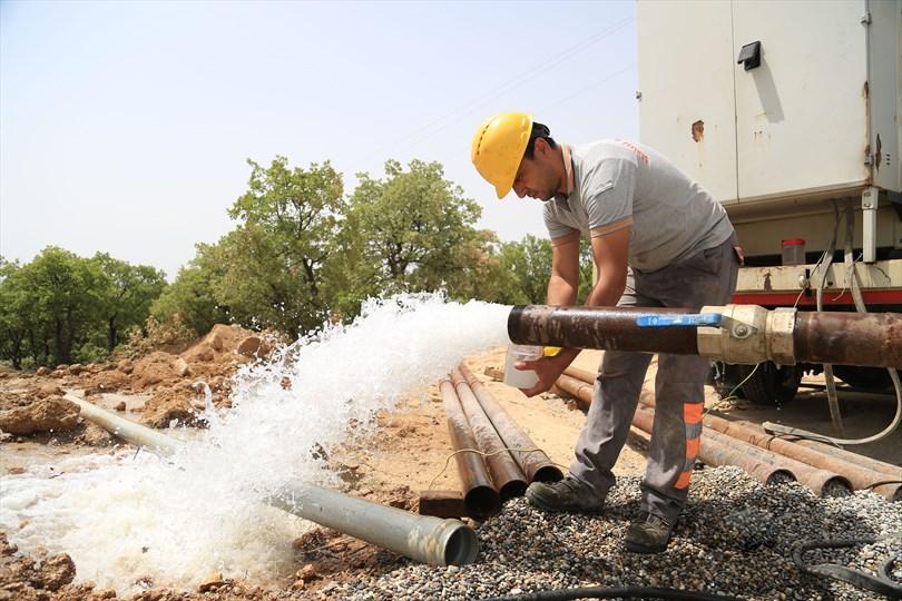 Büyükşehir DESKİ'den Çivril'e yeni su kaynakları