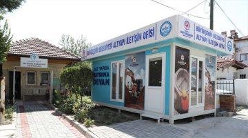 Büyükşehir'den bir altyapı iletişim ofisi de Sevindik'e