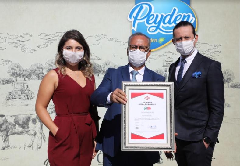 Önallar Gıda 'TSE COVİD-19 Güvenli Üretim' Belgesi Aldı