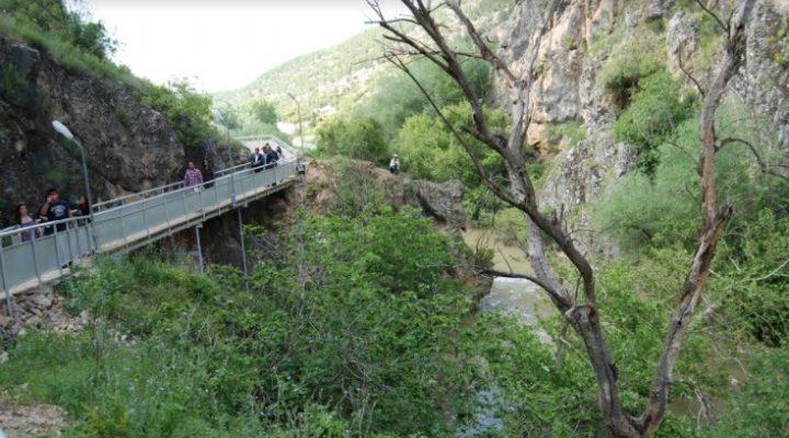 Çal Kanyonunda 700 metre geçildi