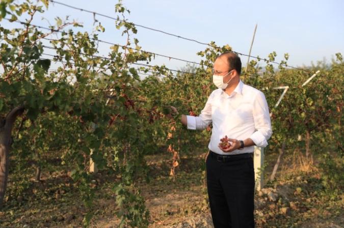 Başkan Örki Çiftçilerin Yanında