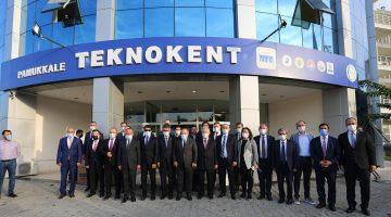 Sanayi ve Teknoloji Bakanından PAÜ'ye ve Pamukkale Teknokent'e Ziyaret