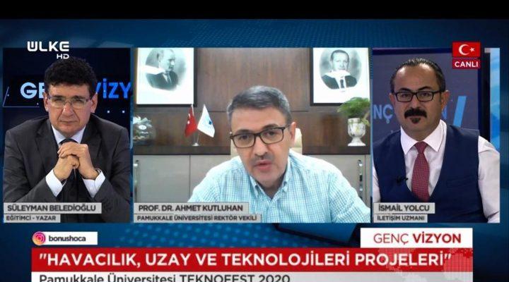 Rektör Vekili Kutluhan, Ülke TV'de