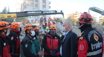 Başkan Zolan deprem bölgesinde
