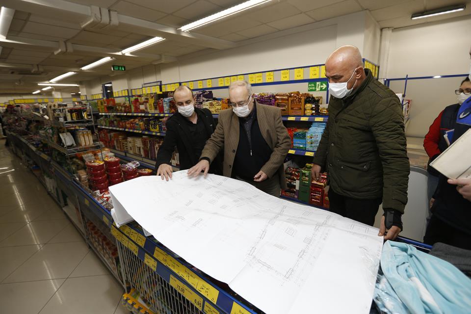 Deprem Riskine Karşı Kolon Denetimi Yapıyor