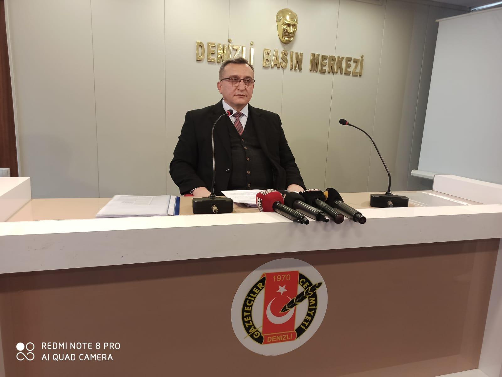 Denizli SGK İl Müdürü Abdullah Mersin'den Yapılandırma Açıklaması