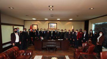 MHP İl Teşkilatı'ndan Başkan Zolan'a ziyaret