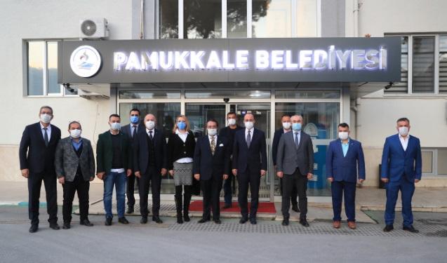 MHP Pamukkale İlçe Teşkilatı Örki'yi Ziyaret Etti