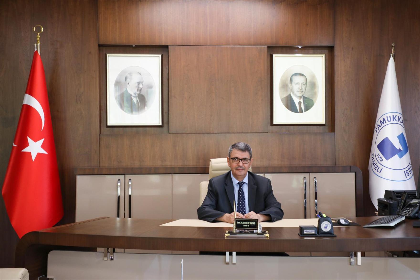 Pamukkale Üniversitesi Rektörü Prof. Dr. Ahmet Kutluhan Oldu