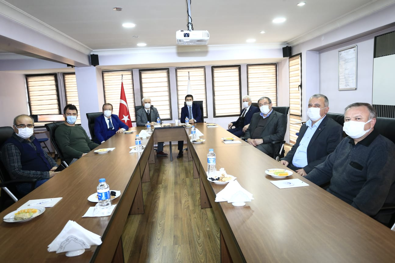 DTB Meclis Grup Başkanvekili Özkan'ı Ağırladı