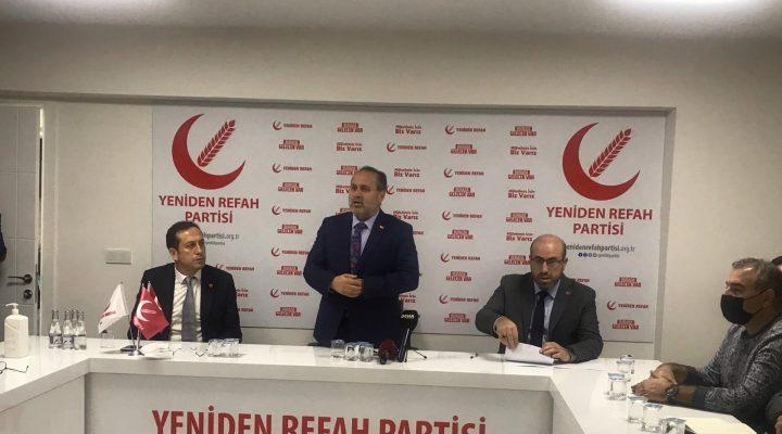 Yeniden Refah Partisi Denizli İl Divanı Toplantısı Yapıldı