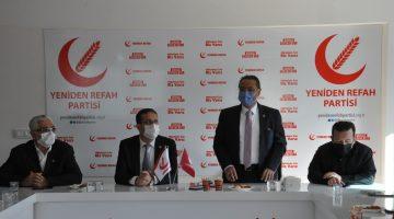 Yeniden Refah Partisi Genel Başkan Yardımcısı Sakartepe Denizli'de