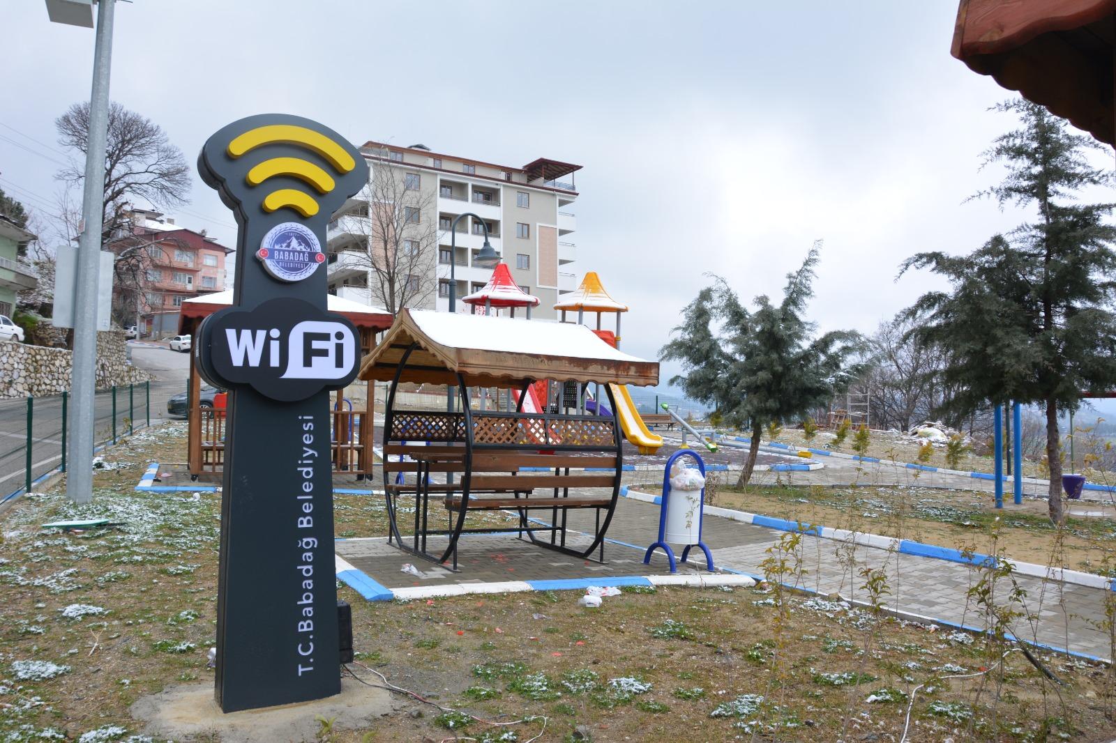 Babadağ Belediyesi'nden Ücretsiz Wifi Hizmeti