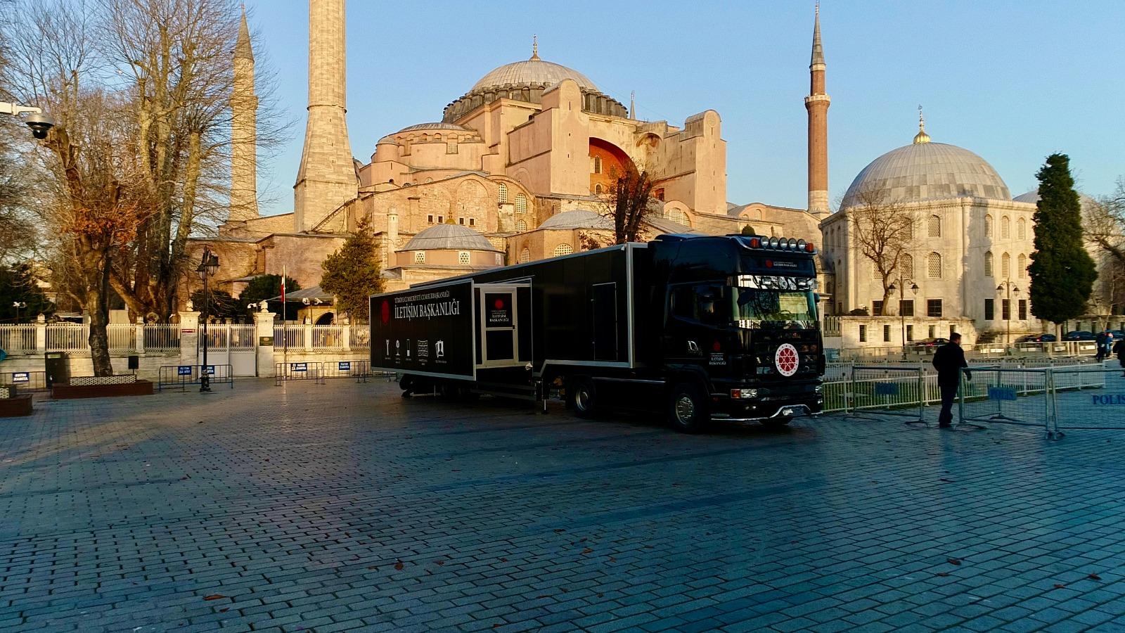 Cumhurbaşkanlığı İletişim Başkanlığının Dijital Tırı Türkiye'yi dolaşacak