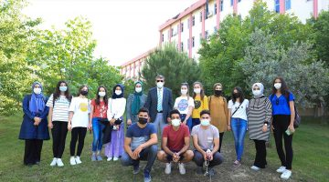 Rektör Kutluhan'ın Projesi ile Kınıklı Merkez Yerleşke Öğrencilere Uygulama Sahası Oldu