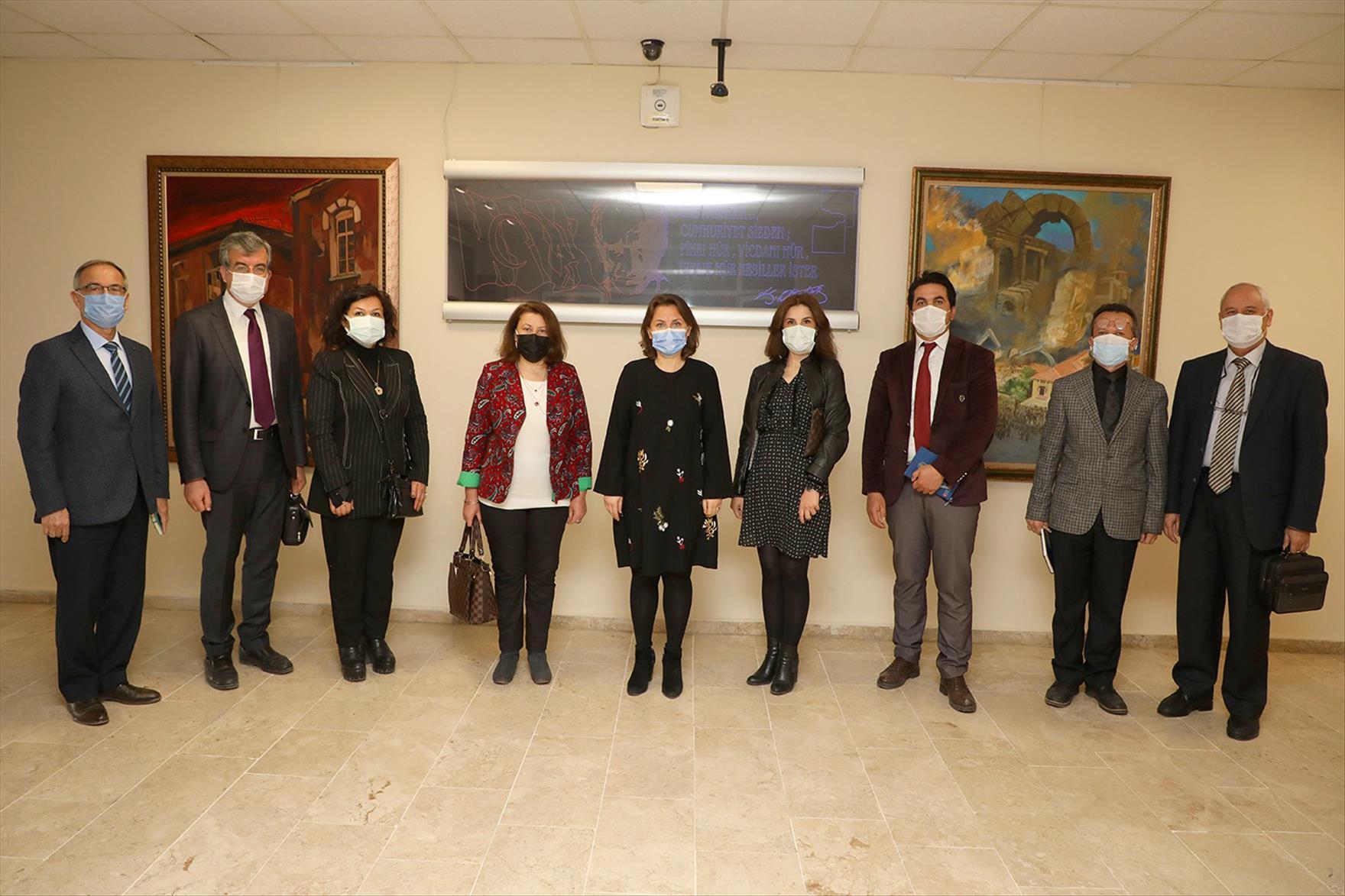 Dekan Can'dan Okul Müdürlerine Ziyaret