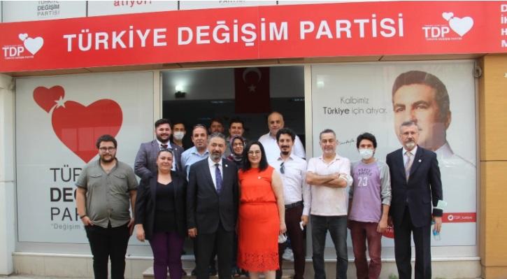 TDP Pamukkale İlçe Başkanı Fikriye Hasırcı oldu