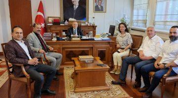 Avrupa Türk İşadamları İşbirliği Konseyi (ATİK) Denizli'de yoğun çalışıyor