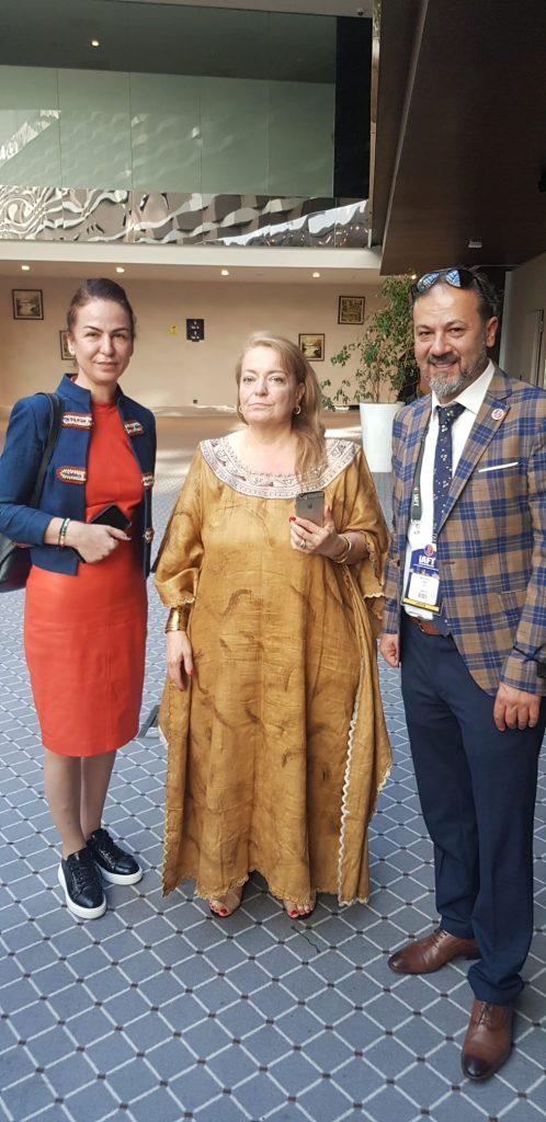 Türkiye Afrika Ticaret Forumunda Nijerya kraliçesi ile görüş alışverişinde bulunuldu
