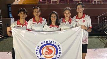 Büyükşehir Belediyesporlu gençlerden 3 Türkiye derecesi