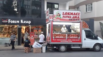 Forum Kasap'tan müşterilerine lokma hayrı