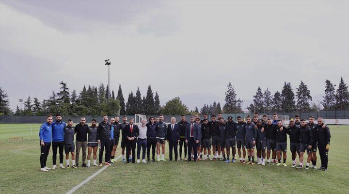 Başkan Zolan'dan Altaş Denizlispor Kulübü'ne ziyaret