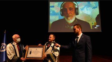 Uşak Üniversitesi Prof. Dr. Nevzat Kor'a Fahri Doktora Unvanı Verdi